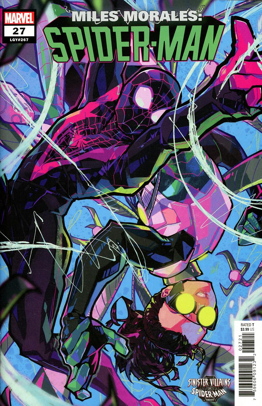 Miles Morales Spider-Man #27 Cover B Variant Rose Besch Spider-Man Villains Cover
