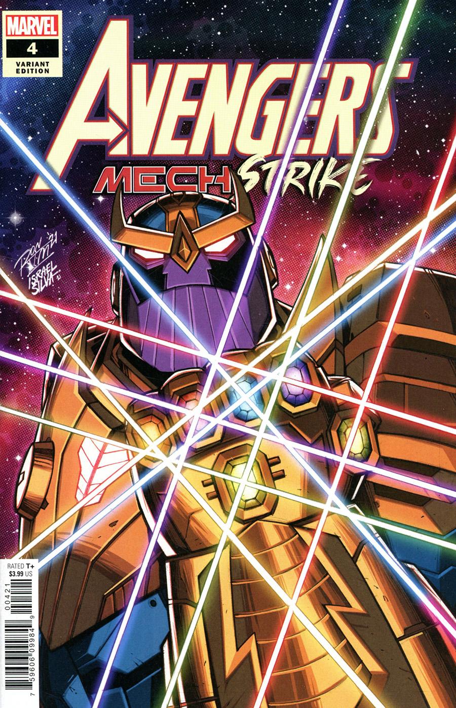Avengers Mech Strike #4 Cover B Variant Ron Lim Cover