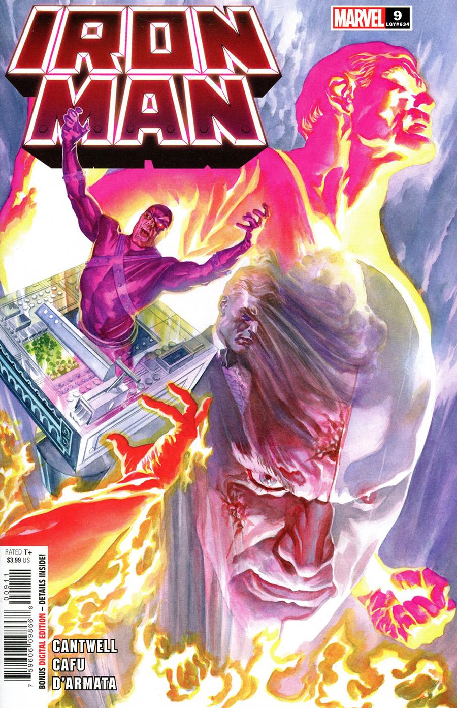 Iron Man Vol 6 #9 Cover A Regular Alex Ross Cover