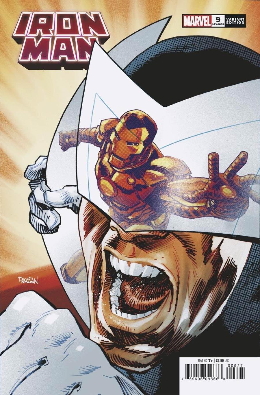 Iron Man Vol 6 #9 Cover B Variant Dan Panosian Spider-Man Villains Cover