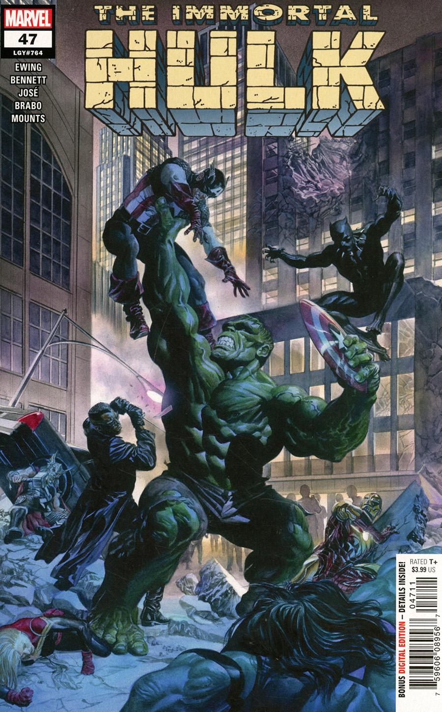 Immortal Hulk #47 Cover A Regular Alex Ross Cover
