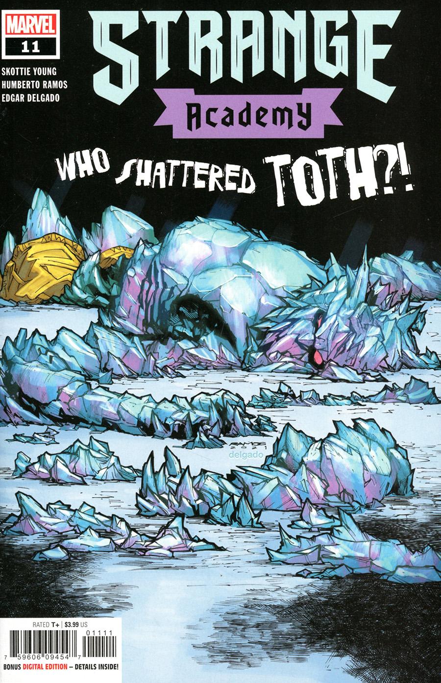 Strange Academy #11 Cover A Regular Humberto Ramos Cover