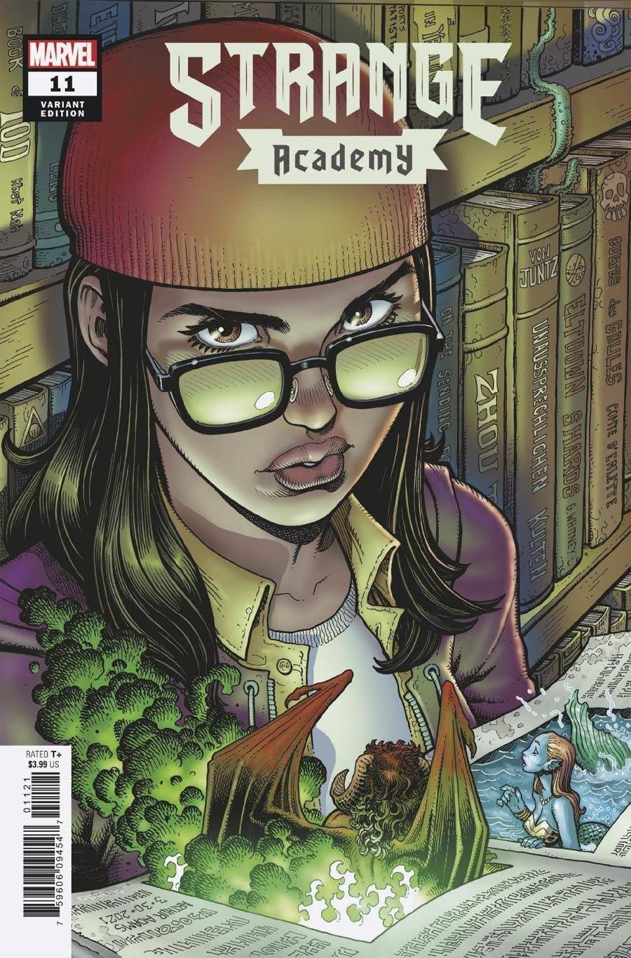 Strange Academy #11 Cover B Variant Arthur Adams Character Spotlight Cover