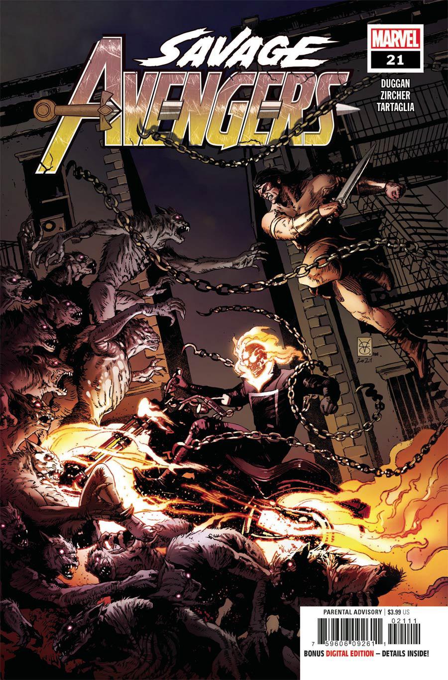 Savage Avengers #21