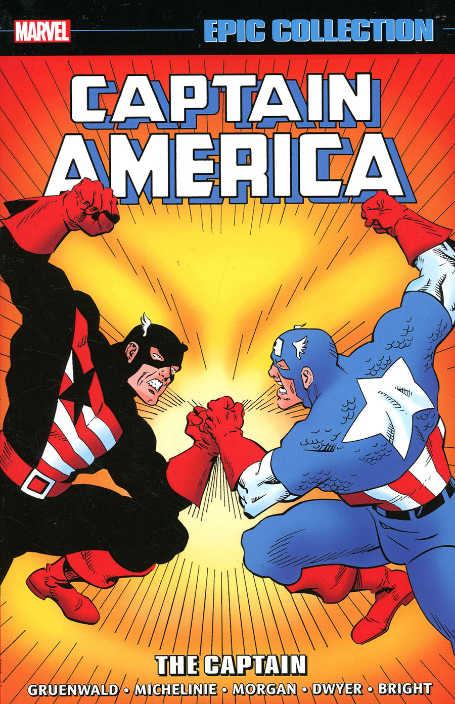 Captain America Epic Collection Vol 14 The Captain TP