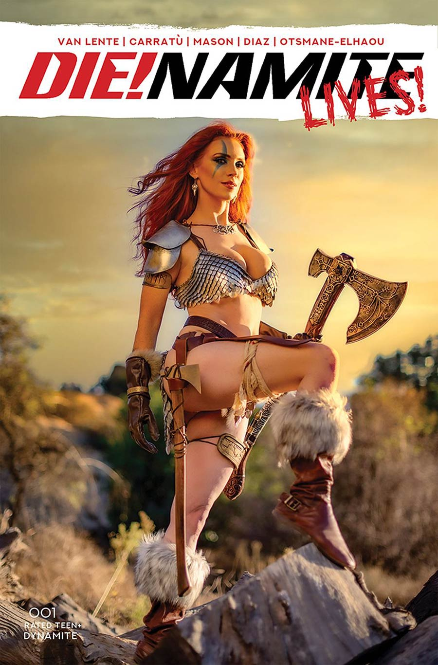 DieNamite Lives #1 Cover E Variant Gracie The Cosplay Lass Cosplay Photo Cover