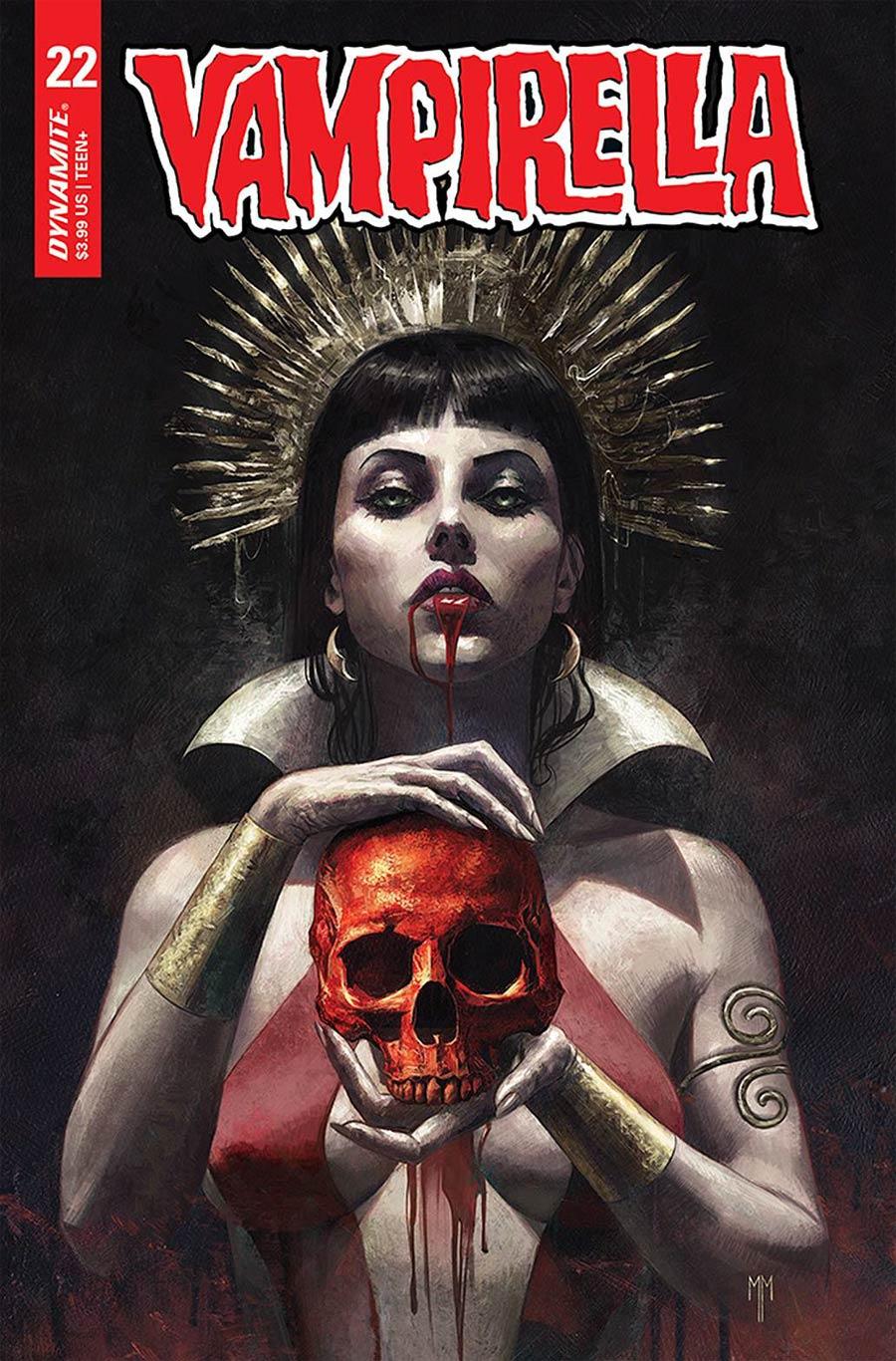 Vampirella Vol 8 #22 Cover B Variant Marco Mastrazzo Cover
