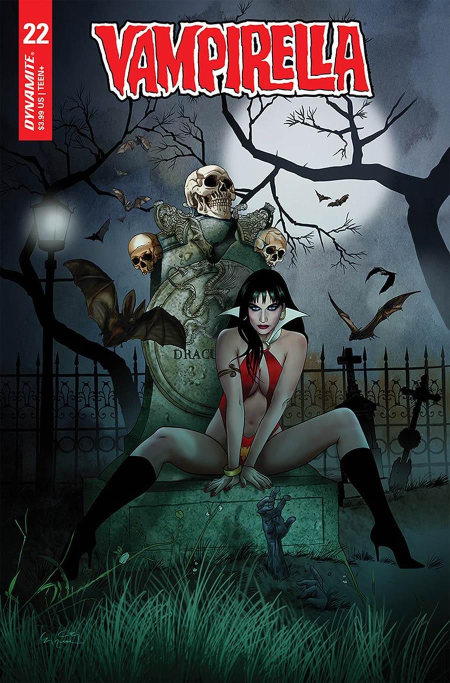 Vampirella Vol 8 #22 Cover D Variant Ergun Gunduz Cover