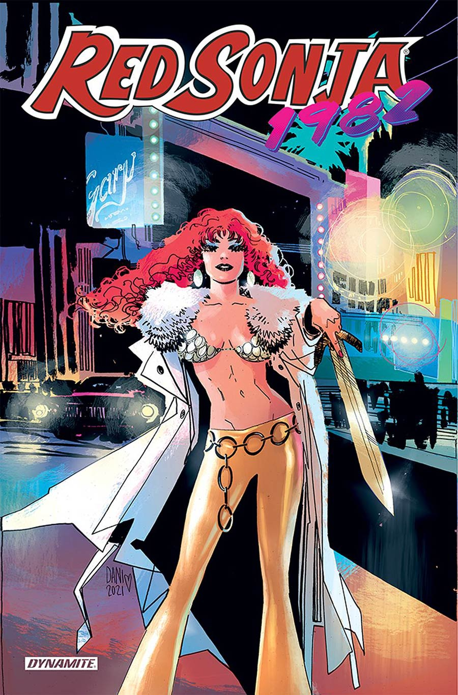 Red Sonja 1982 #1 (One Shot) Cover A Regular Dani Cover