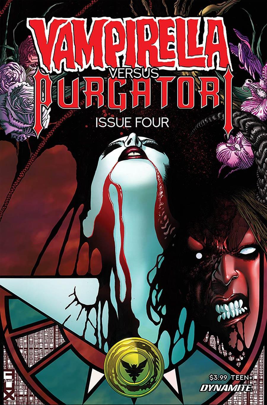Vampirella vs Purgatori #4 Cover C Variant Russell Fox Cover