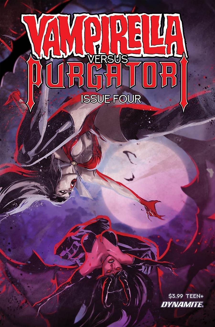 Vampirella vs Purgatori #4 Cover D Variant Szymon Kudranski Cover