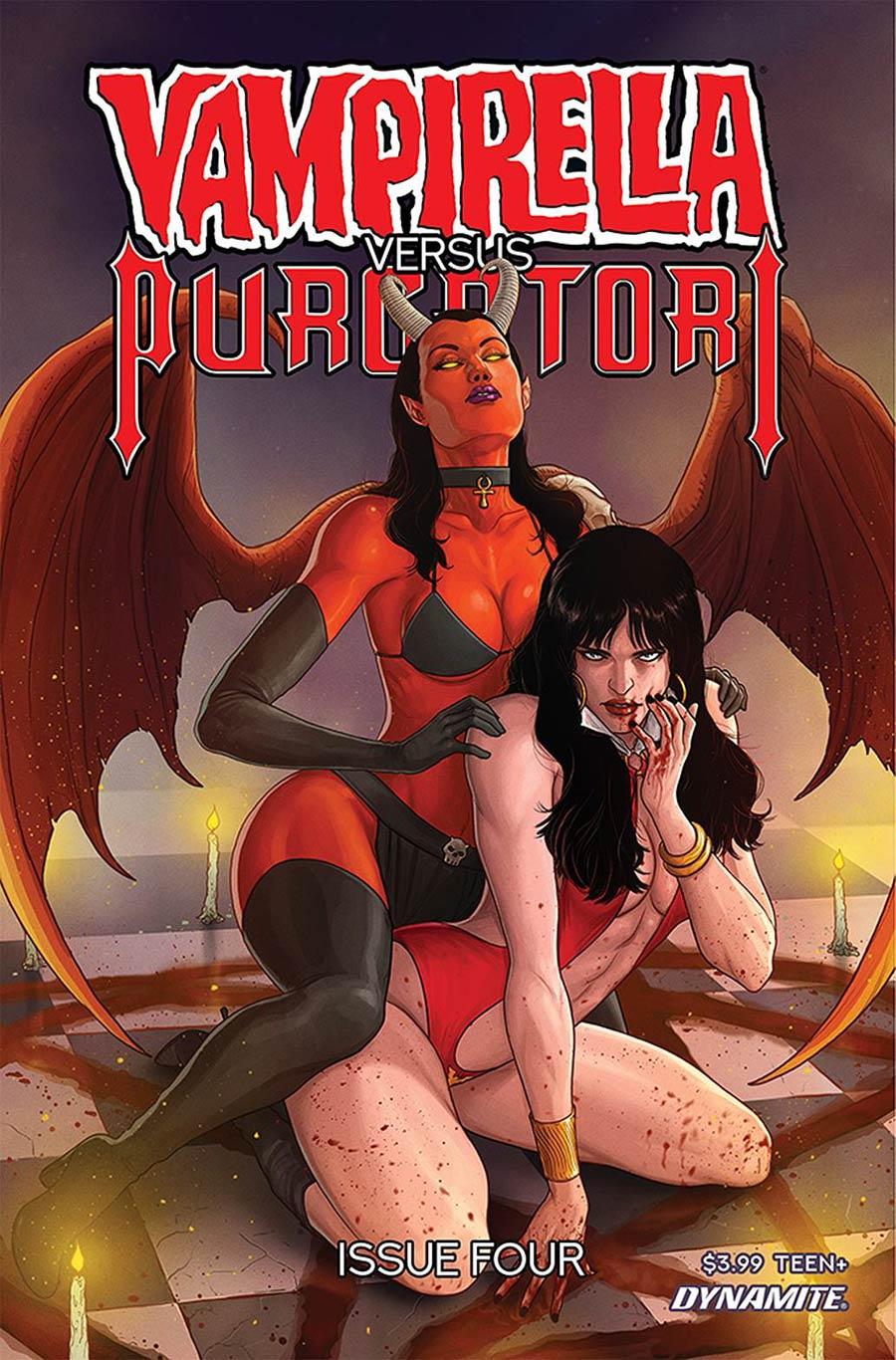 Vampirella vs Purgatori #4 Cover E Variant Madibek Musabekov Cover