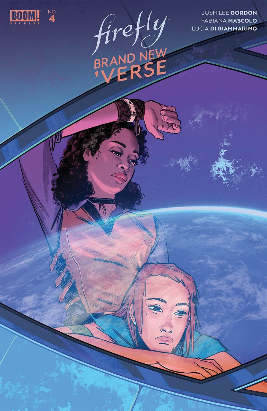Firefly Brand New Verse #4 Cover B Variant Veronica Fish Cover