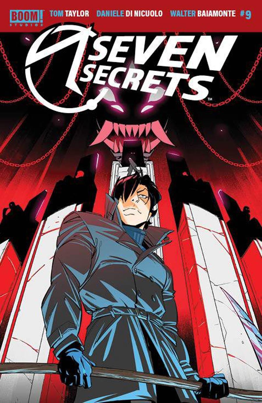 Seven Secrets #9 Cover A Regular Daniele di Nicuolo Cover
