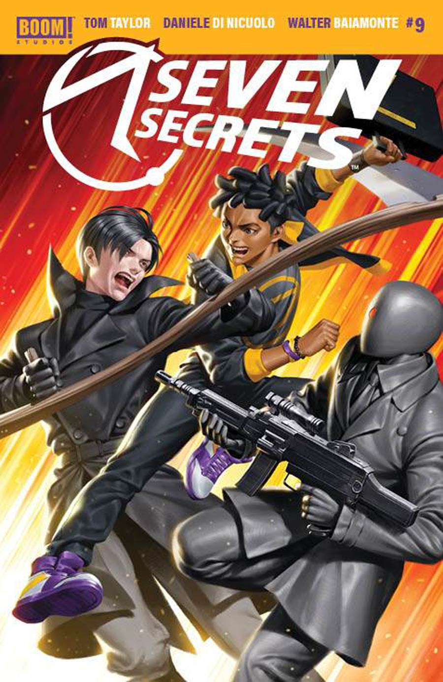 Seven Secrets #9 Cover B Variant Junggeun Yoon Cover