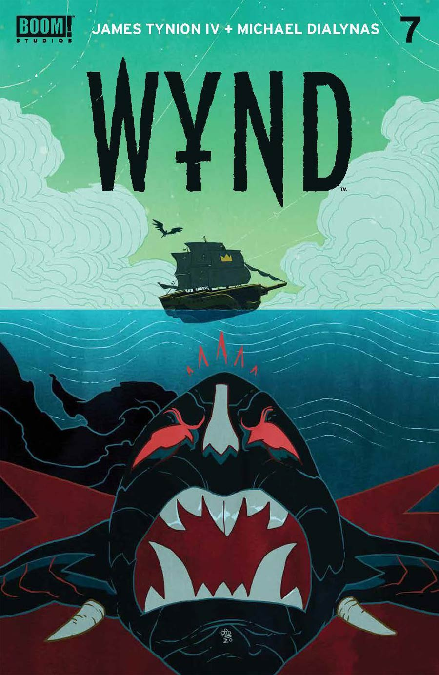 Wynd #7 Cover A Regular Michael Dialynas Cover