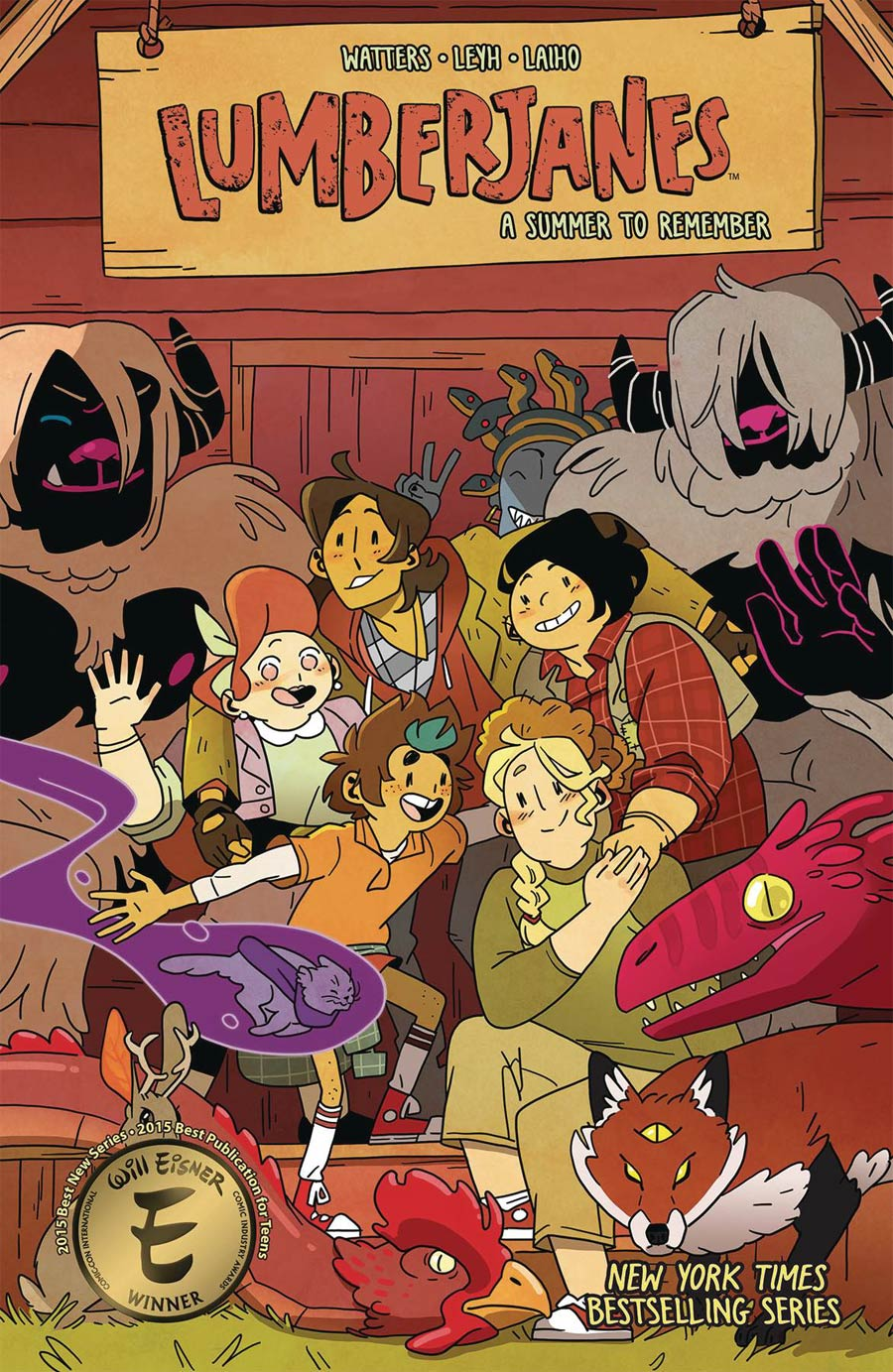 Lumberjanes Vol 19 A Summer To Remember TP