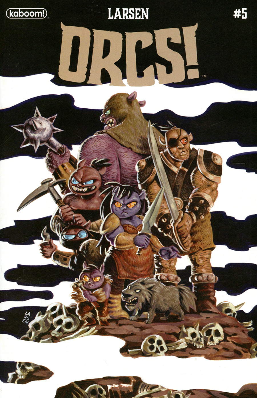 Orcs #5 Cover A Regular Christine Larsen Cover