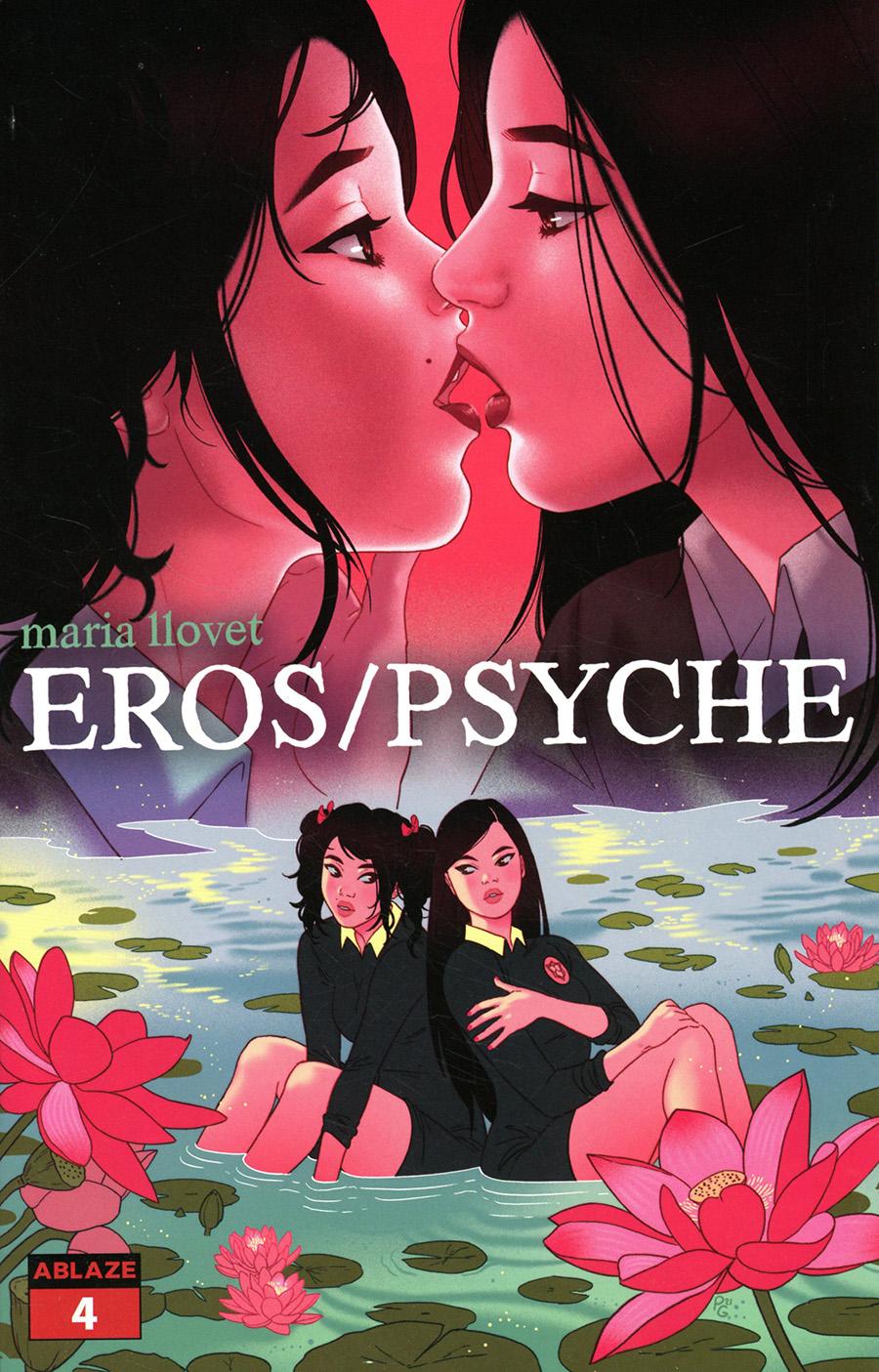 Maria Llovets Eros Psyche #4 Cover C Variant Paulina Ganucheau Cover
