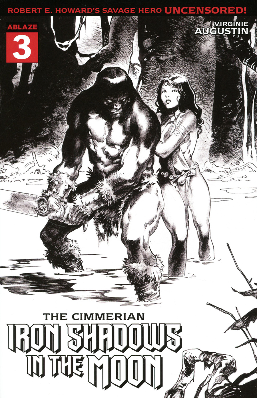 Cimmerian Iron Shadows In The Moon #3 Cover B Variant Virginie Augustin Cover