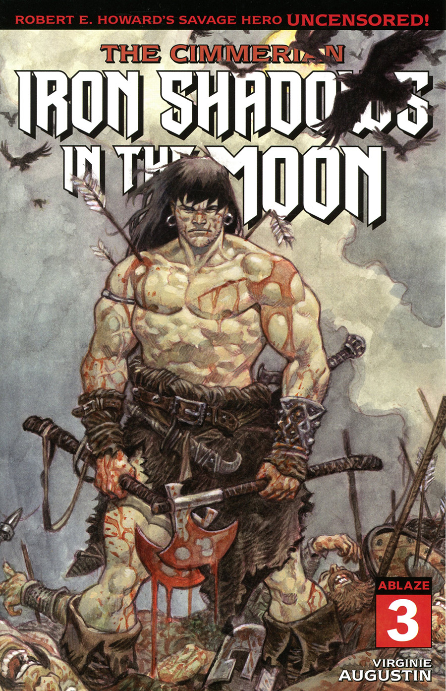 Cimmerian Iron Shadows In The Moon #3 Cover C Variant Josep Homs Cover