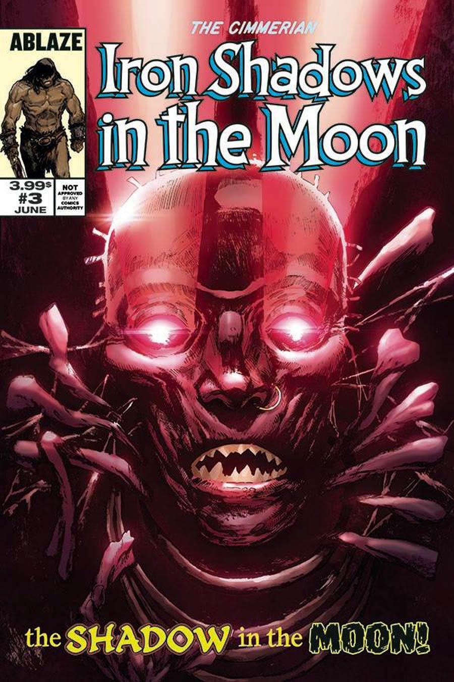 Cimmerian Iron Shadows In The Moon #3 Cover D Variant Fritz Casas Fantastic Four 268 Parody Cover