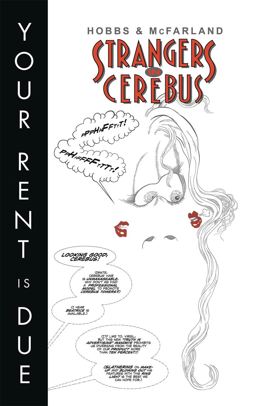 Strangers In Cerebus #1 (One Shot)