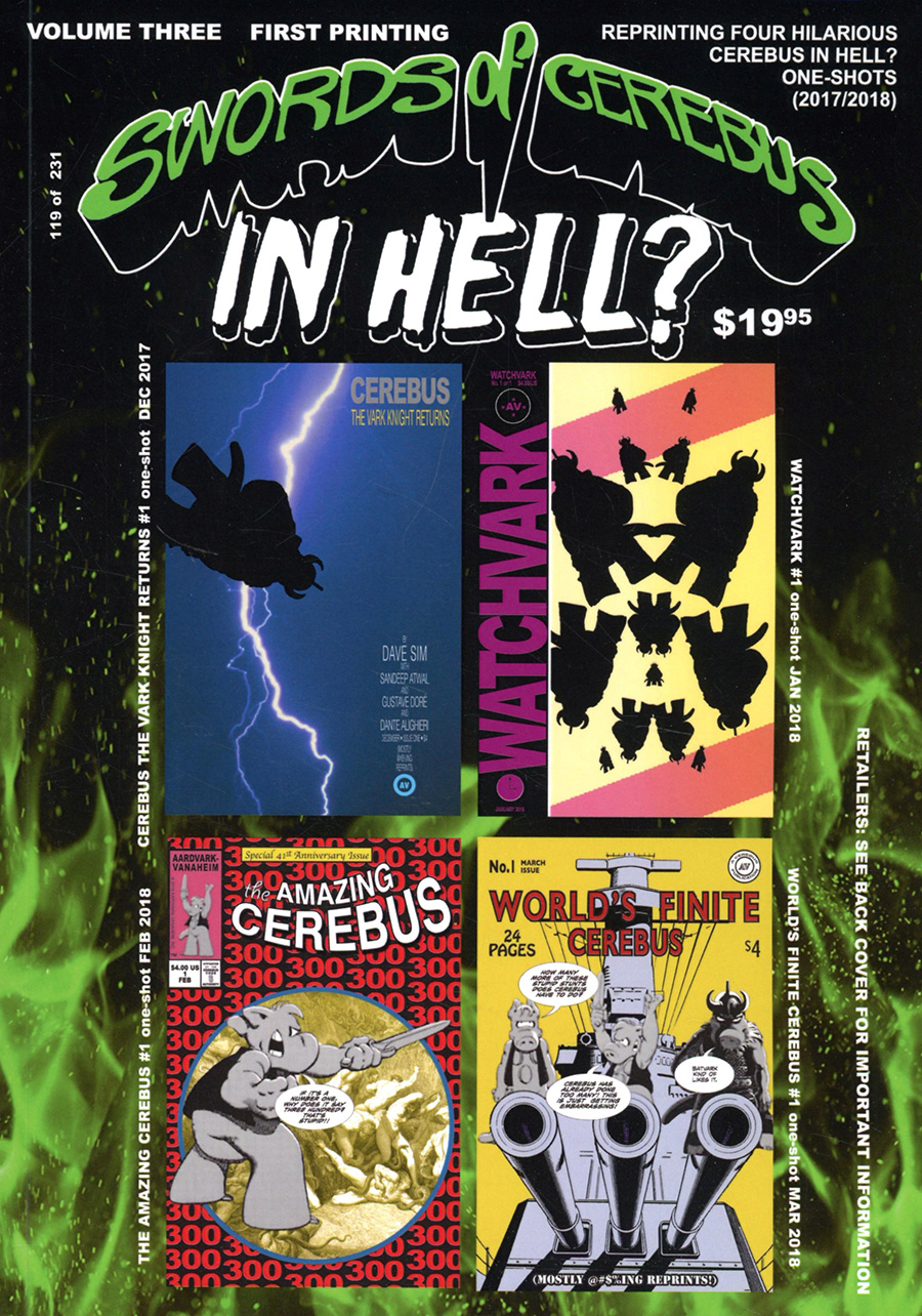 Swords Of Cerebus In Hell Vol 3 TP