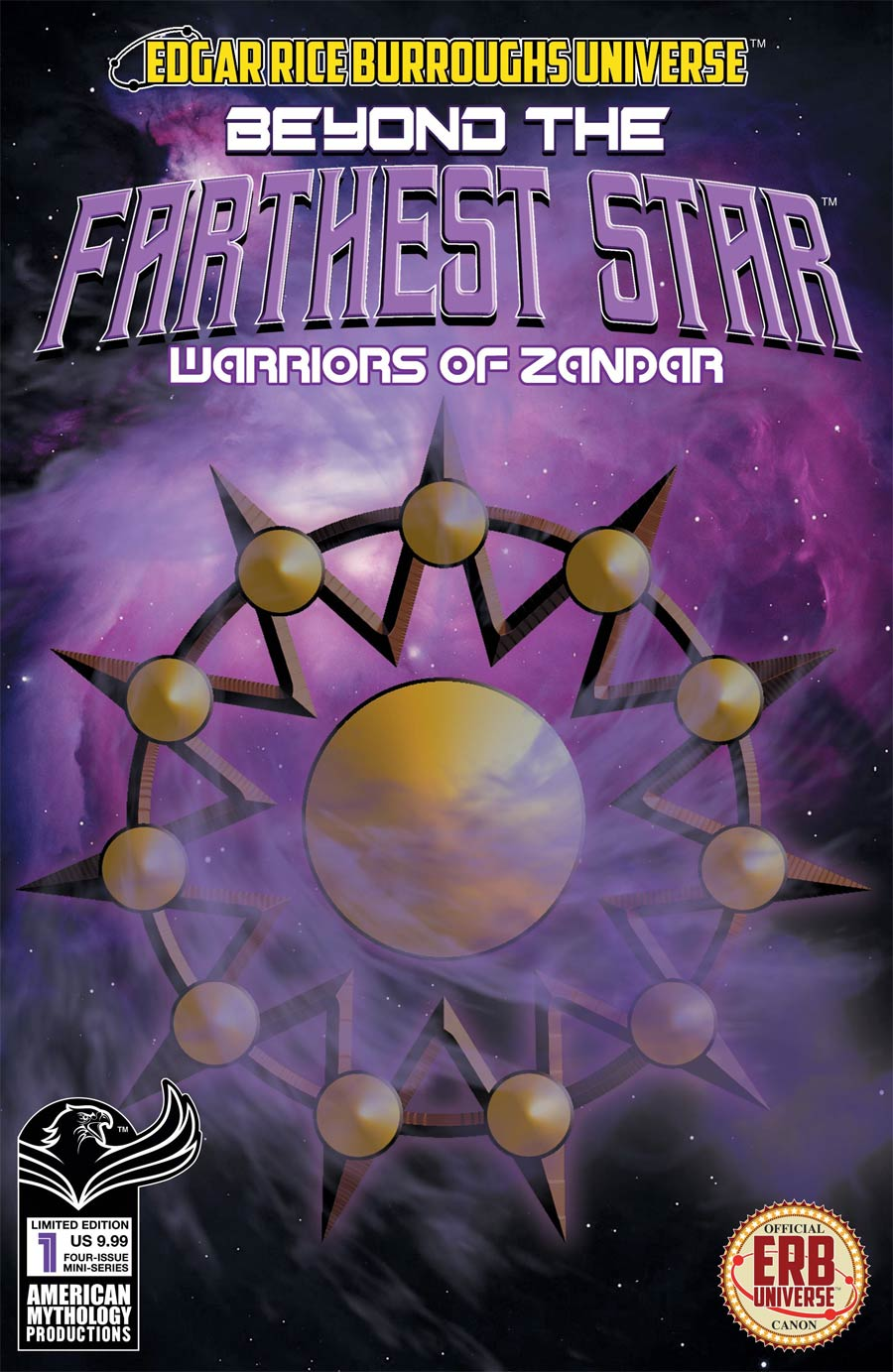 Beyond The Farthest Star Warriors Of Zandar #1 Cover C Limited Edition Mike Wolfer Variant Cover