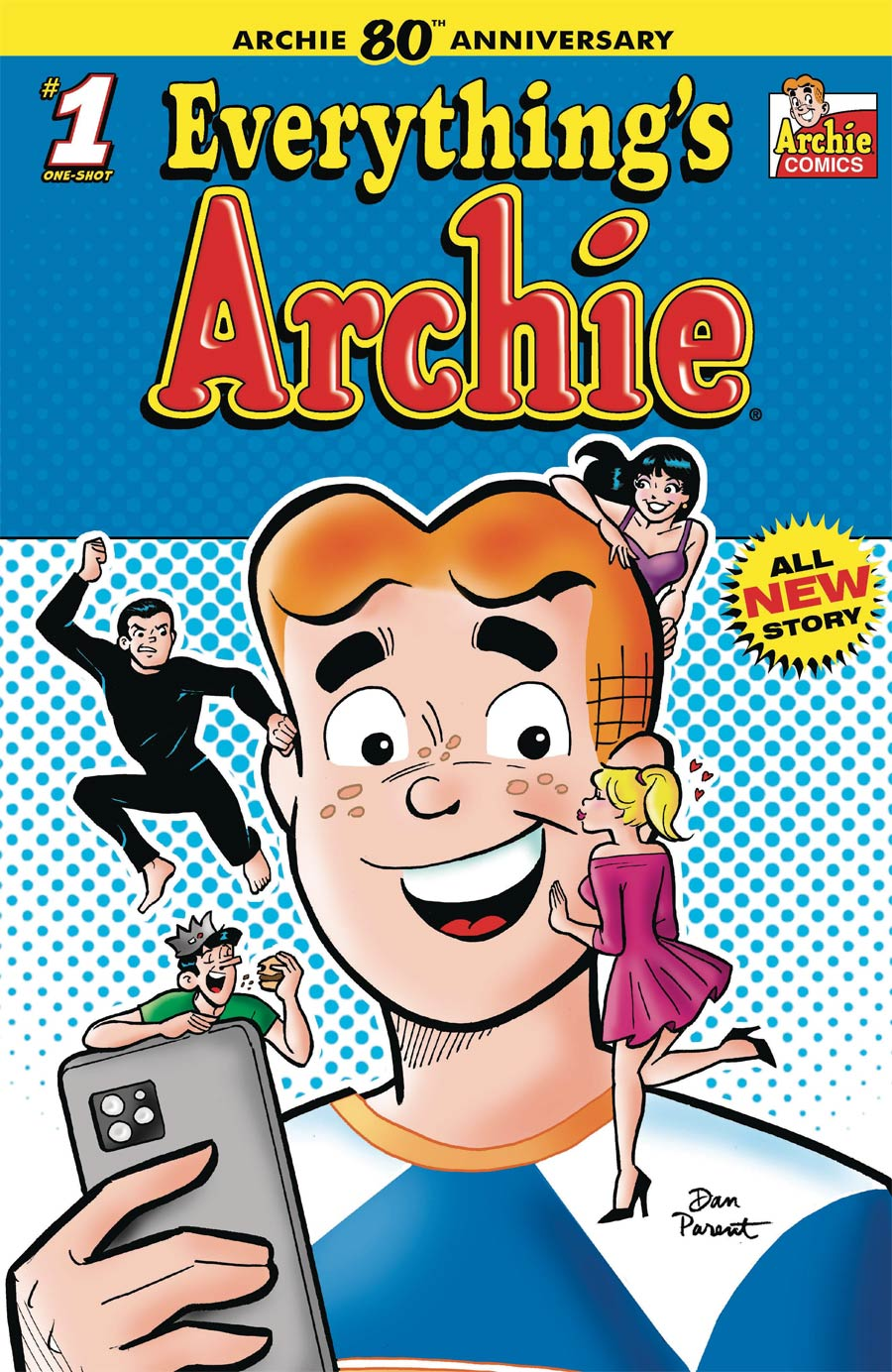 Archie 80th Anniversary #1 (One Shot) Everythings Archie Cover A Regular Dan Parent Cover