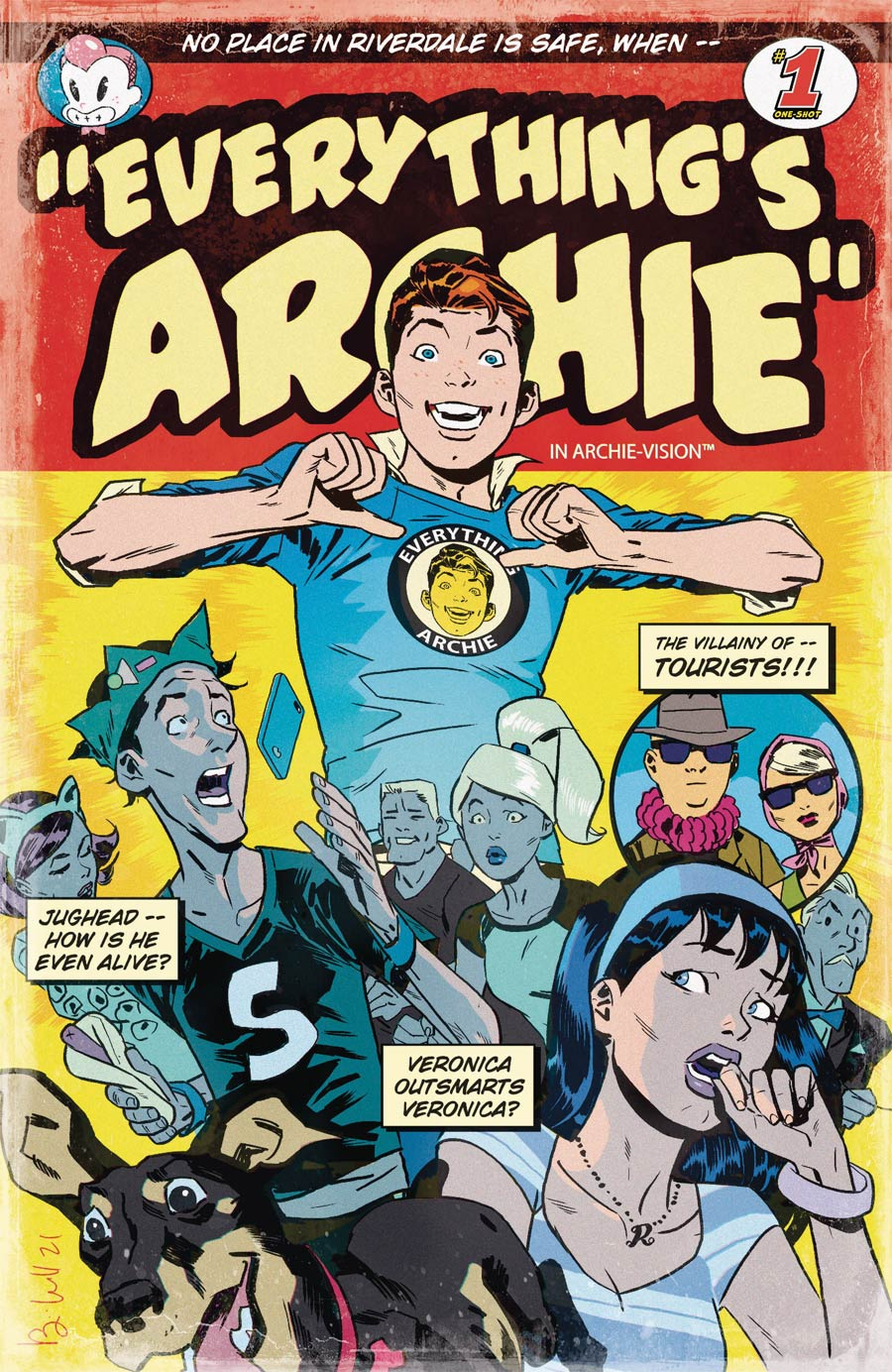 Archie 80th Anniversary #1 (One Shot) Everythings Archie Cover B Variant Ben Caldwell Cover