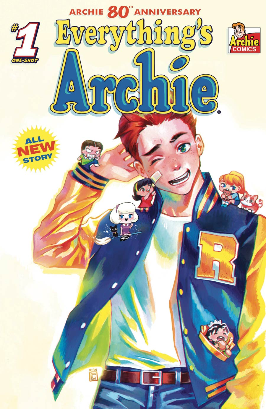 Archie 80th Anniversary #1 (One Shot) Everythings Archie Cover C Variant Rian Gonzales Cover