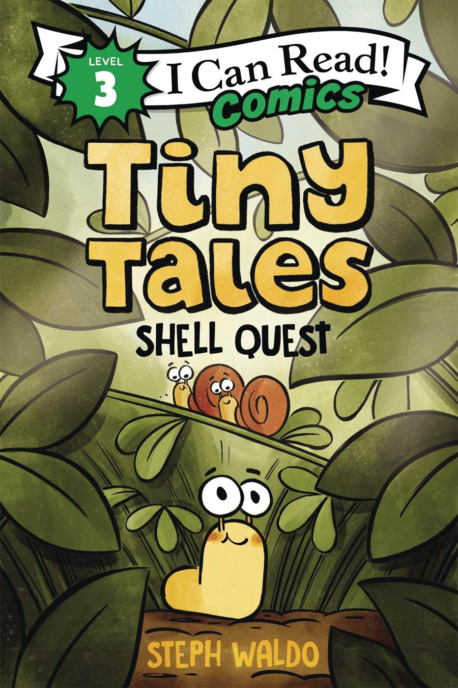 I Can Read Comics Level 3 Tiny Tales Shell Quest TP