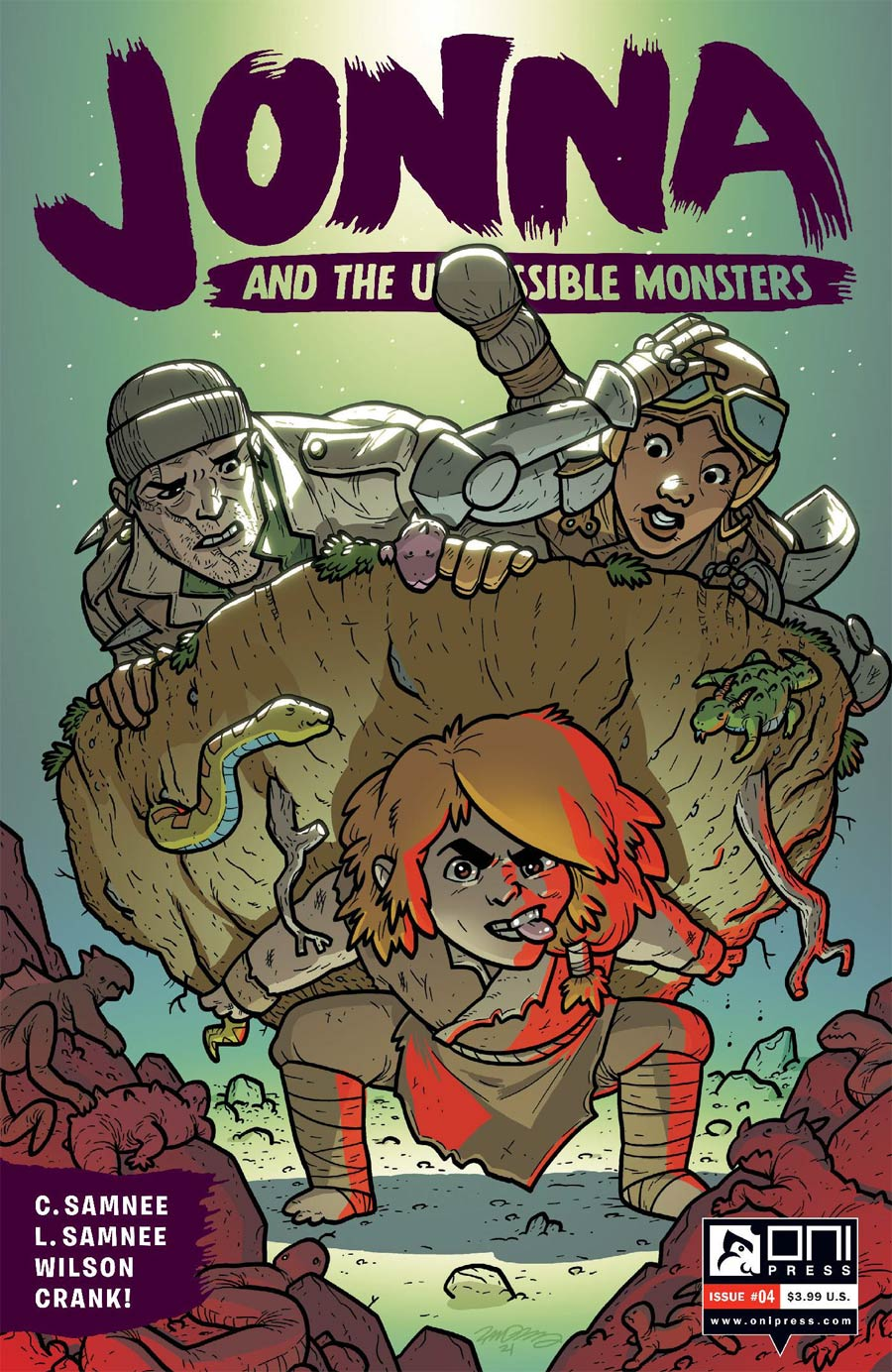 Jonna And The Unpossible Monsters #4 Cover B Variant Zander Cannon Cover
