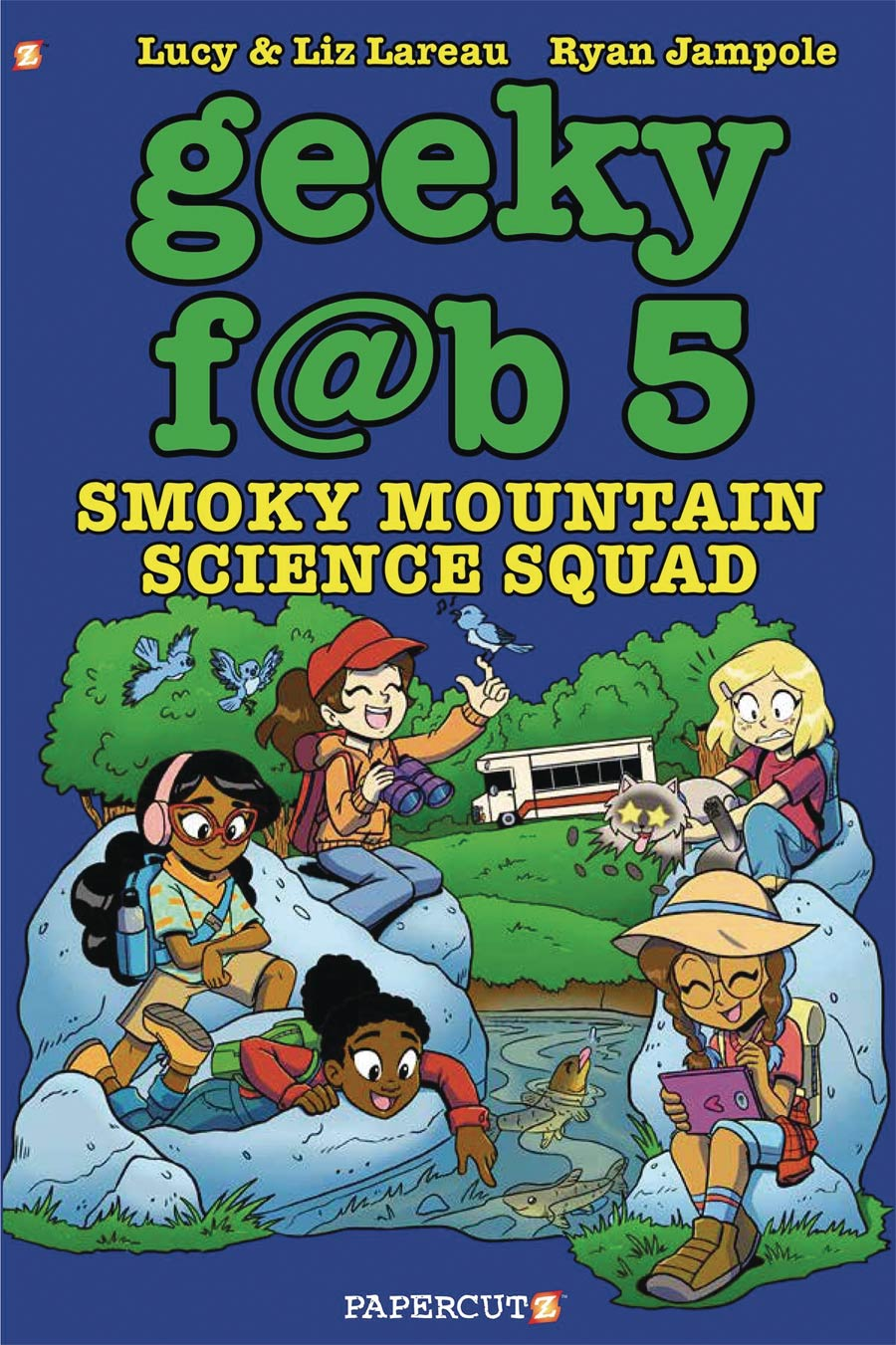 Geeky Fab Five Vol 5 Smoky Mountain Science Squad TP