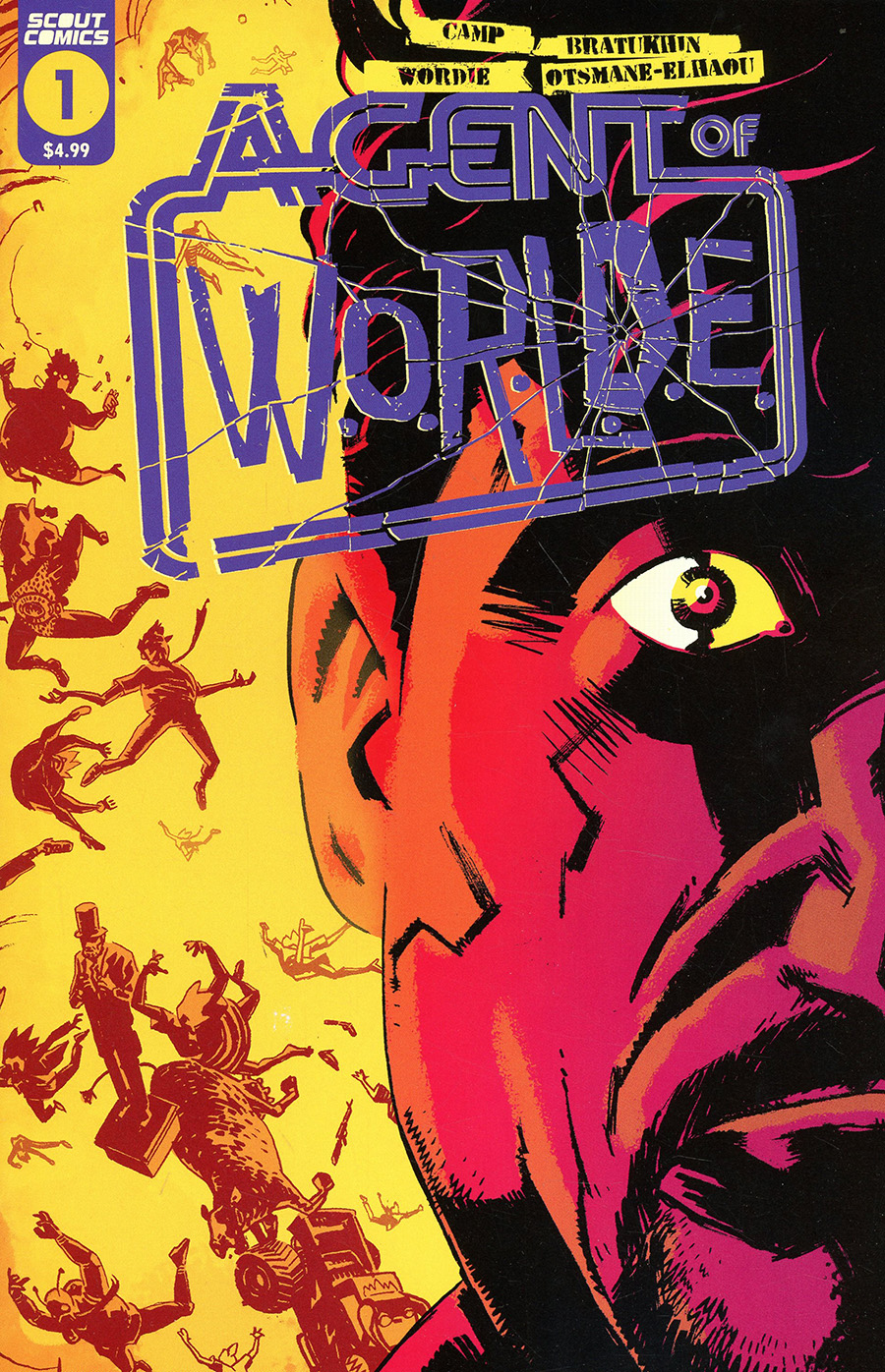 Chaos Agent #1 Cover B Variant Wes Craig Cover