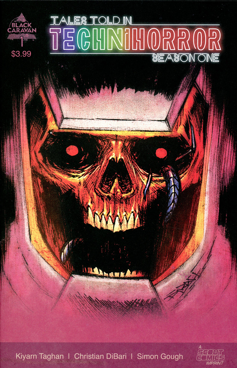 Tales Told In Techni-Horror #1 Cover A Regular Christian DiBari Cover