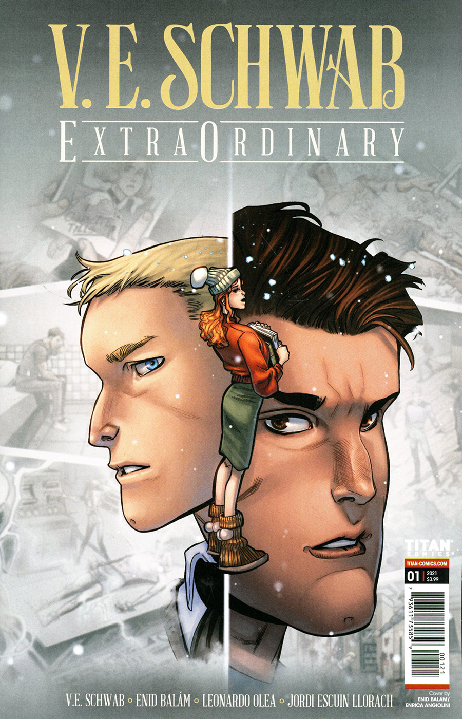 VE Schwabs Extraordinary #1 Cover B Variant Enid Balam Cover