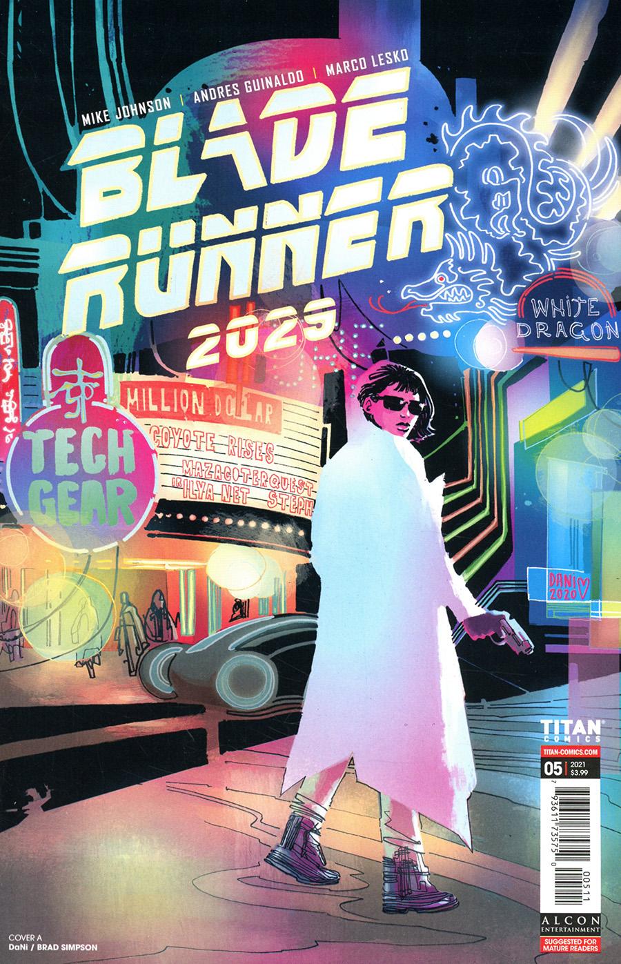 Blade Runner 2029 #5 Cover A Regular Dani Strips Cover