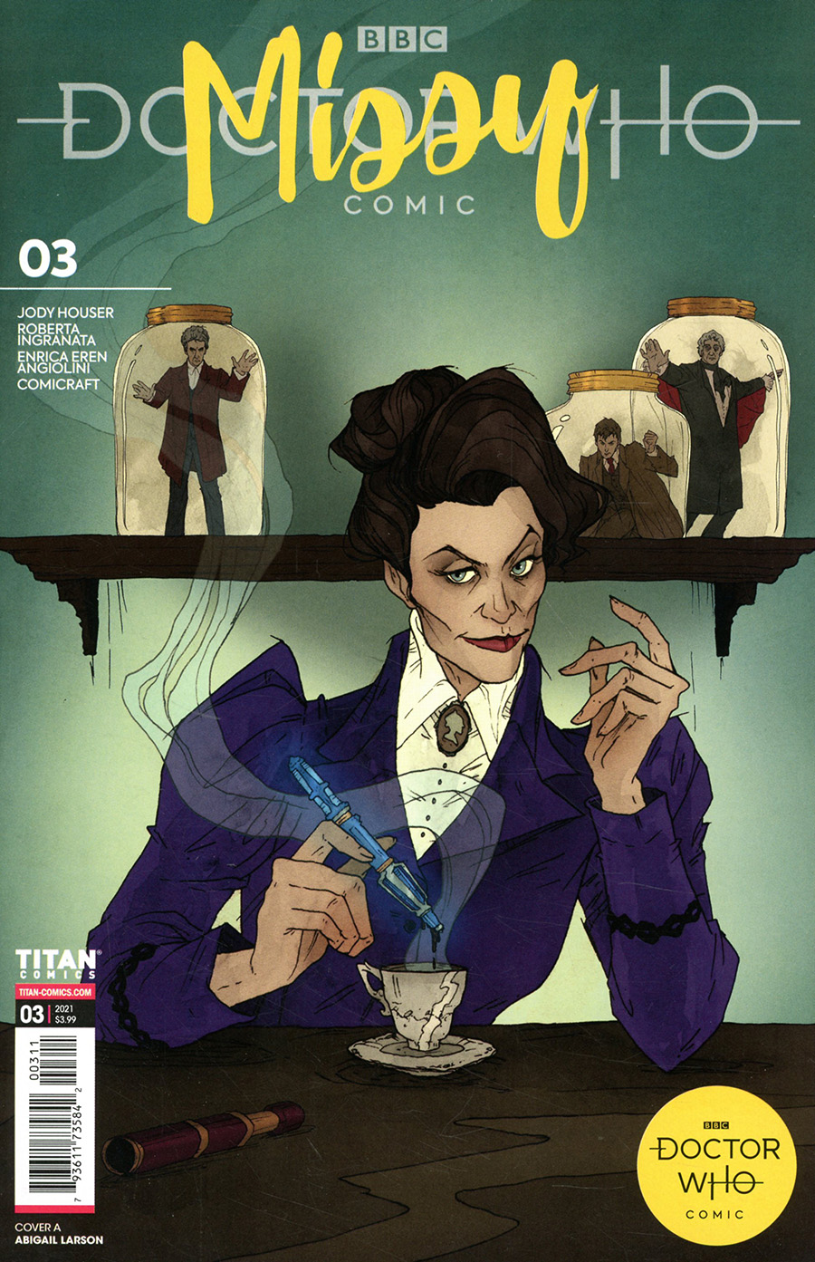 Doctor Who Missy #3 Cover A Regular Abigail Larson Cover