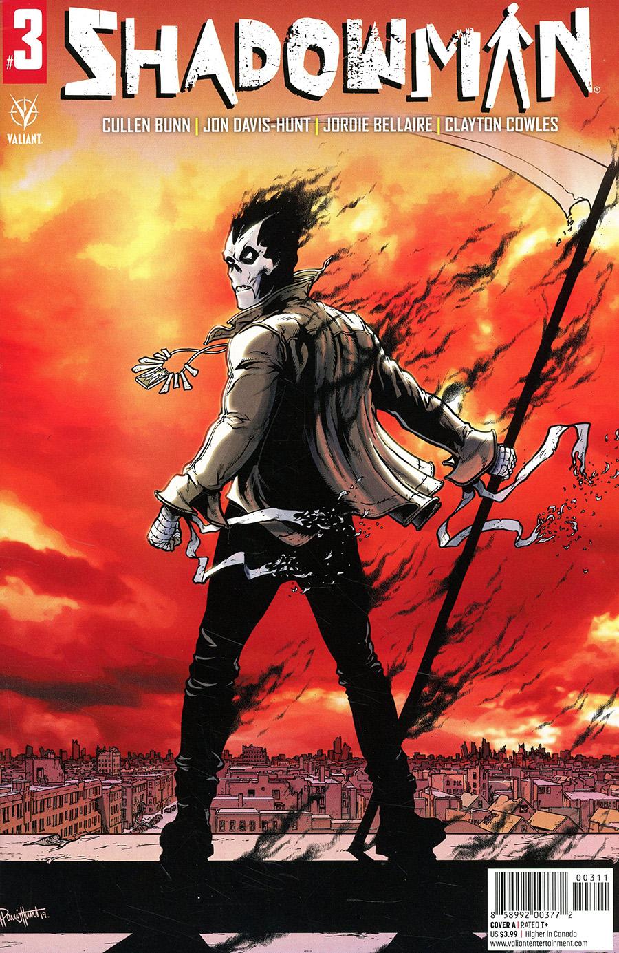 Shadowman Vol 6 #3 Cover A Regular Jon Davis-Hunt Cover