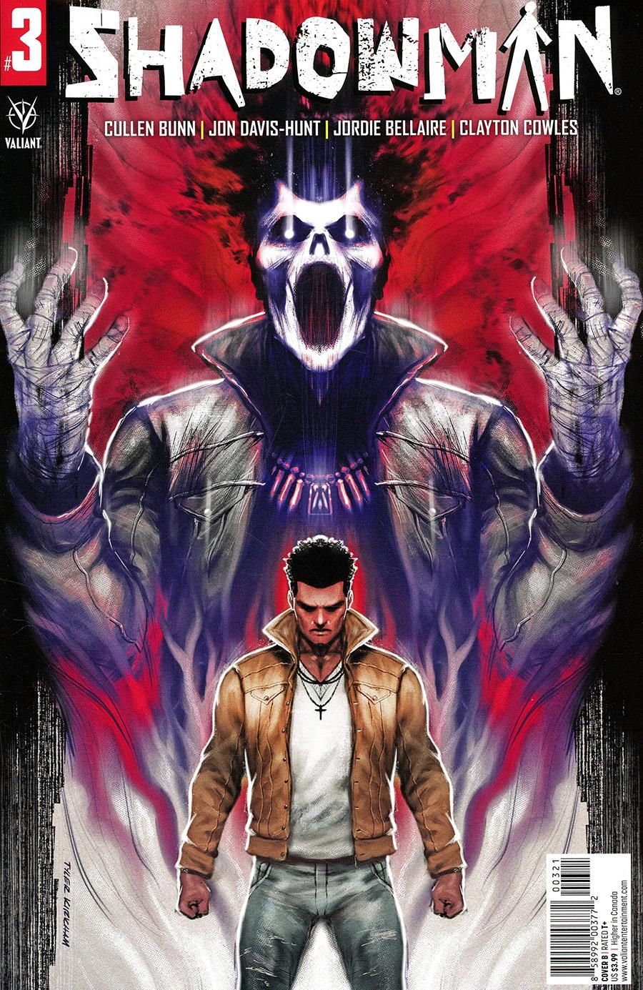 Shadowman Vol 6 #3 Cover B Variant Tyler Kirkham Cover