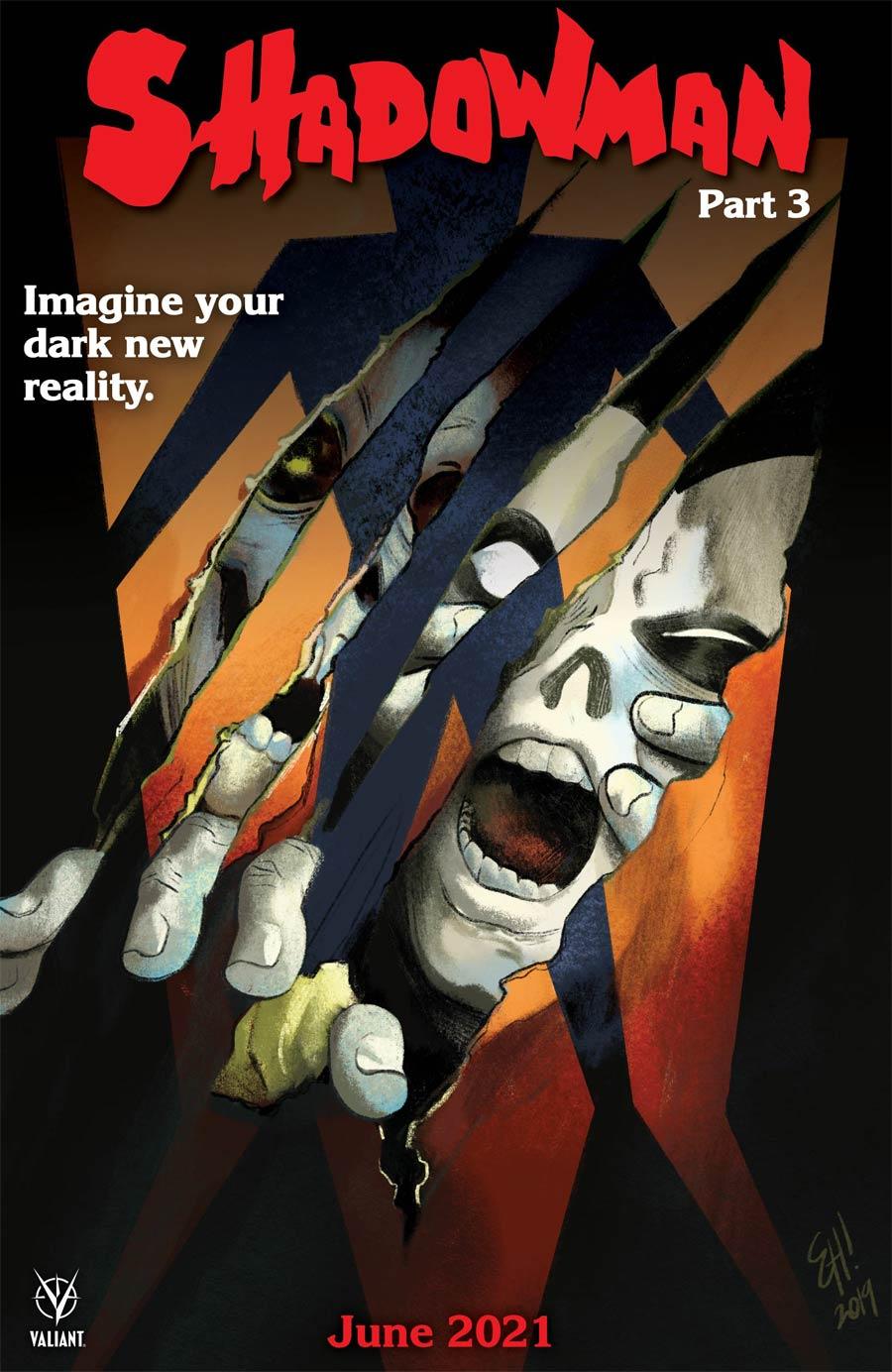 Shadowman Vol 6 #3 Cover C Variant Erica Henderson Horror Movie Homage Cover