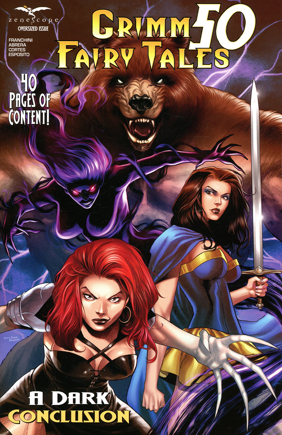 Grimm Fairy Tales Vol 2 #50 Cover D Martin Coccolo