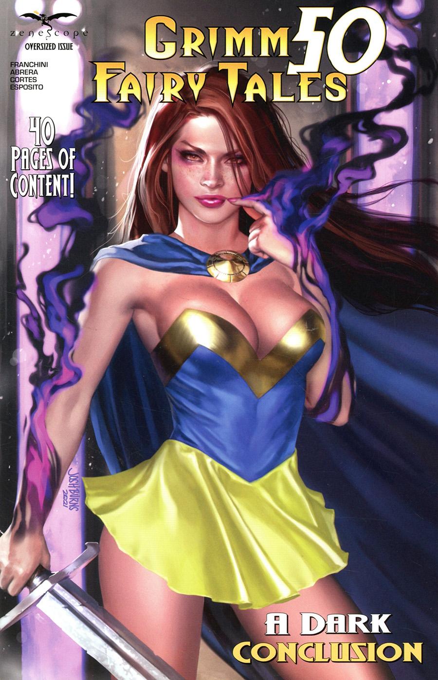 Grimm Fairy Tales Vol 2 #50 Cover E Josh Burns