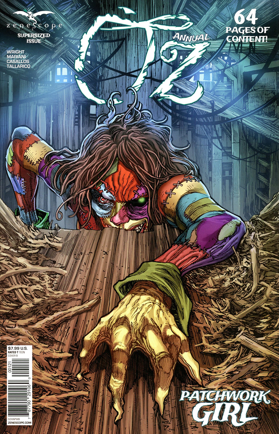 Grimm Fairy Tales Presents Oz Annual Patchwork Girl #1 (One Shot) Cover B Harvey Tolibao