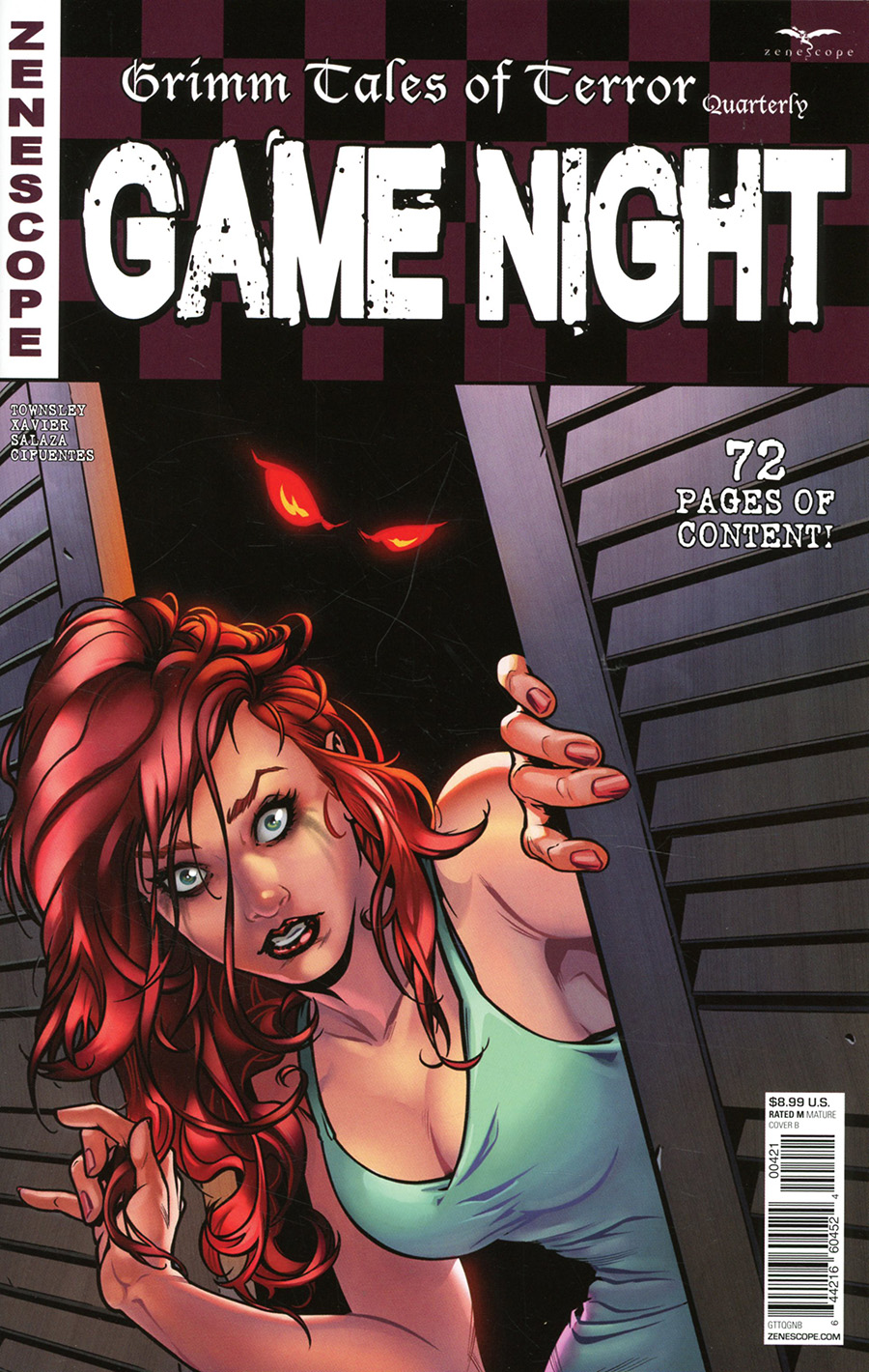 Grimm Fairy Tales Presents Myths & Legends Quarterly #5 Game Night Cover B Riveiro