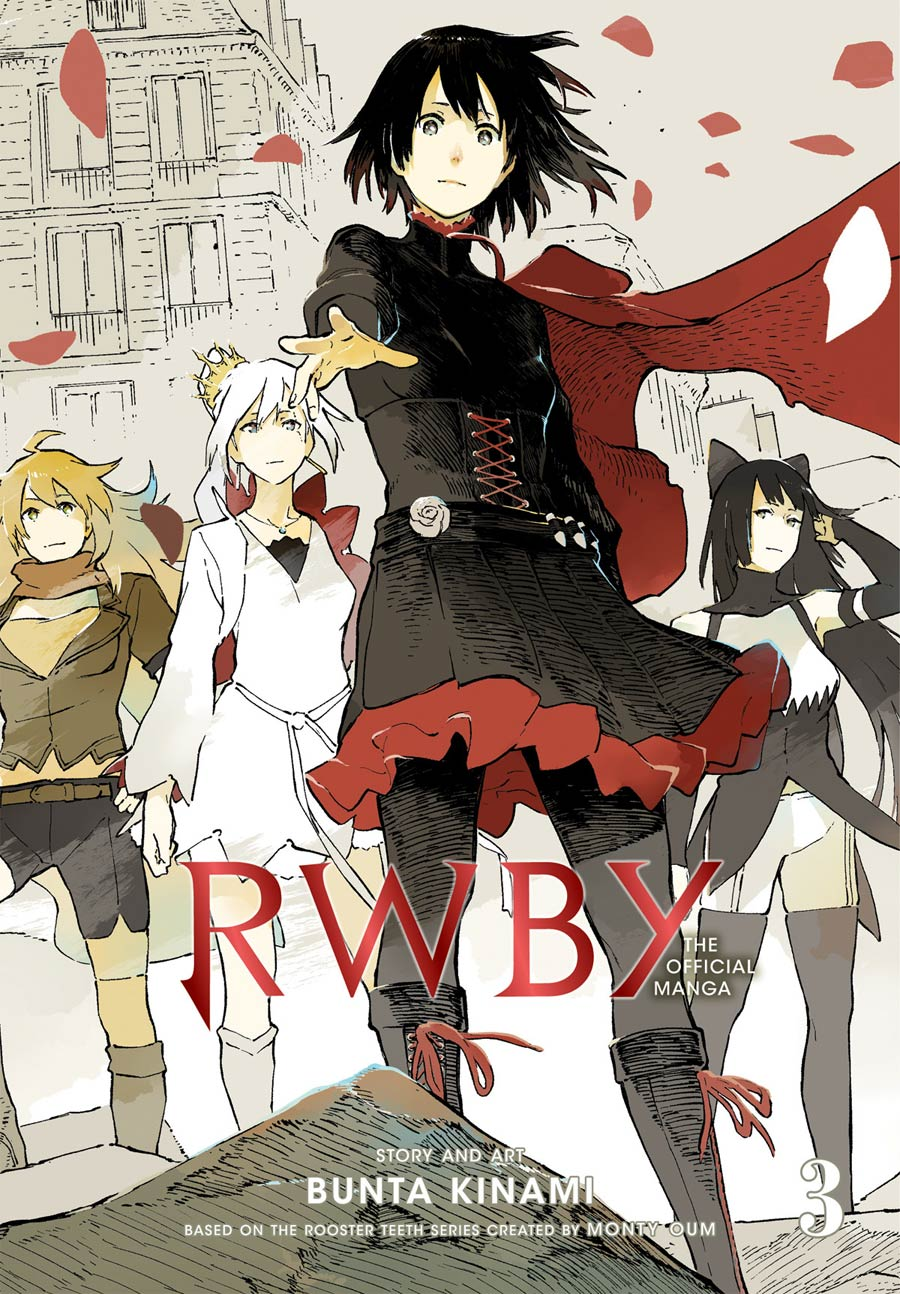 RWBY The Official Manga Vol 3 Beacon Arc GN