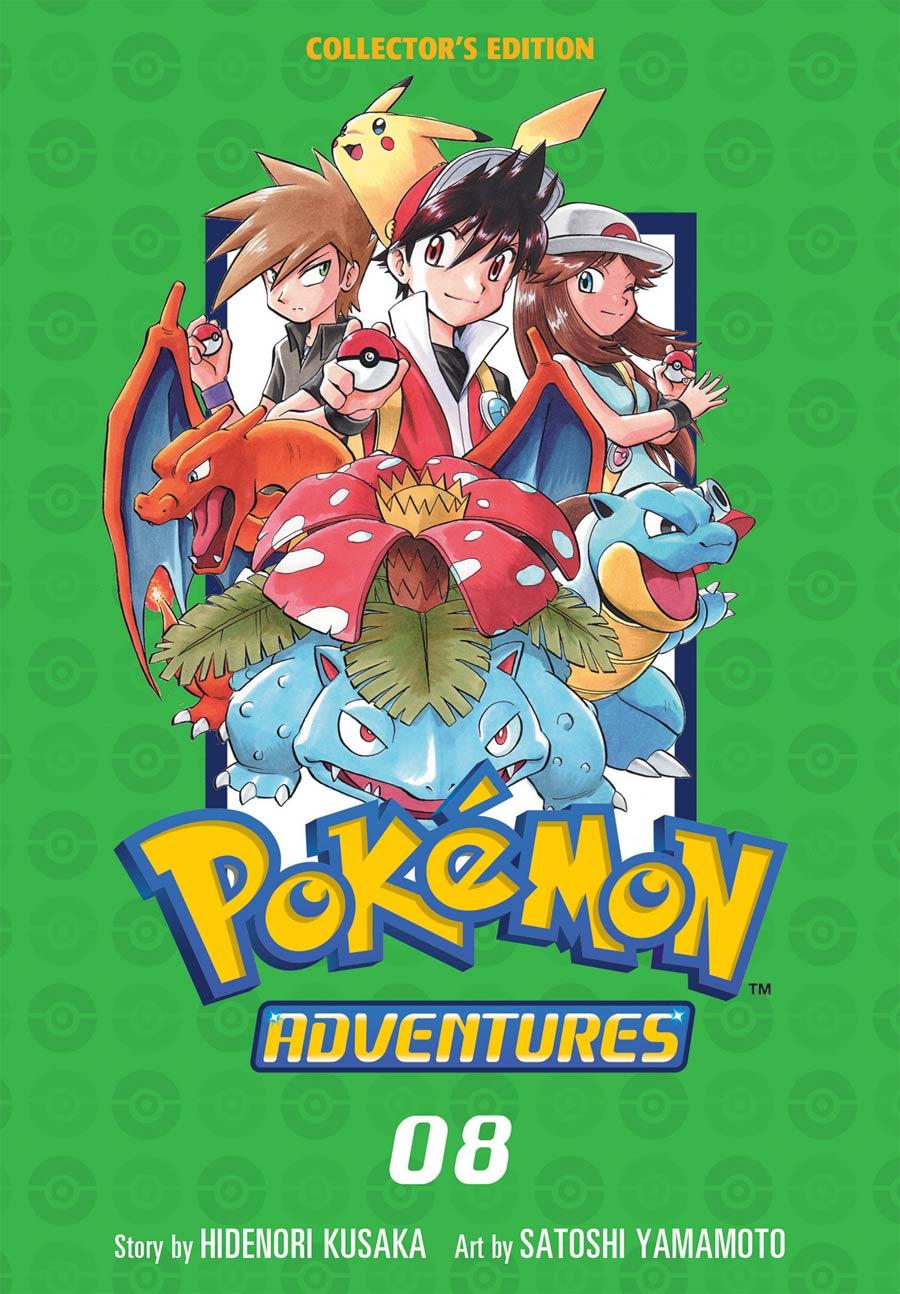 Pokemon Adventures Collectors Edition Vol 8 GN