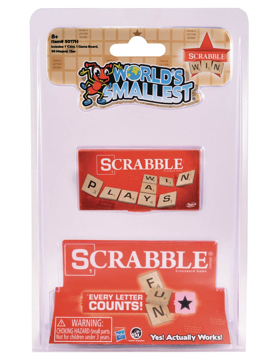 Worlds Smallest Scrabble Game